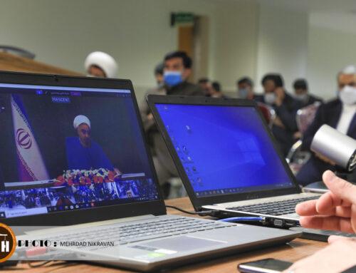 افتتاحیه بیمارستان ۱۶۰ تخت خوابی شهر قدس ( شهید سردار سلیمانی )توسط رییس جمهوری از طریق ویدئو کنفرانس به بهرهبرداری رسید.