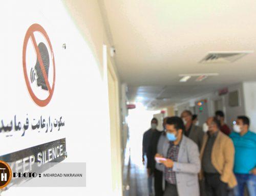 گزارش تصویری از تحویل موقت بیمارستان ۱۶۰ تختخوابی ملارد
