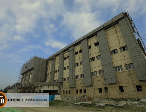 گزارش تصویری از روند پیشرفت پروژه بیمارستانی ۲۲۰ تختخوابی تنکابن
