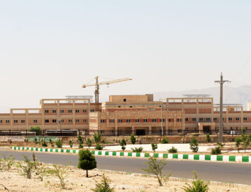 بیمارستان ۱۶۰ تختخوابی امام حسین (ع ) فسا به روزهای پایانی خود نزدیک است