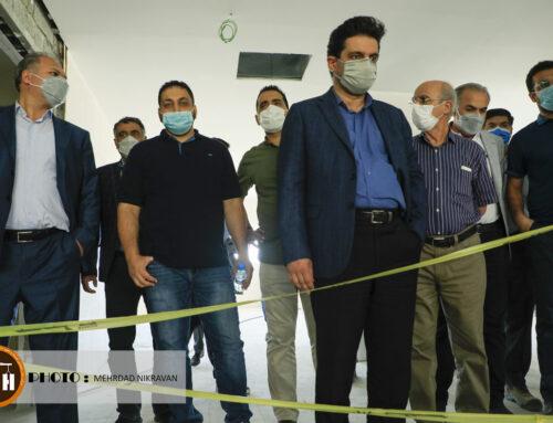 گزارش تصویری بازدید از پروژه بیمارستانی ۳۷۳ تختخوابی ایلام