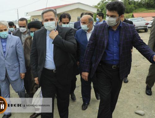 بازدید دکتر نوبخت از پروژه بیمارستان ۲۲۲ تختخوابی شهرستان تنکابن