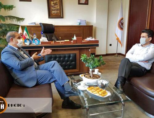 دیدار نماینده شهرستان داراب با مدیر عامل شرکت مادر تخصصی توسعه و تجهیز مراکز بهداشتی ، درمانی
