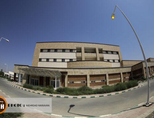 گزارش تصویری از بیمارستان ۱۶۰ تختخوابی شهدای سلامت شهرستان ملارد