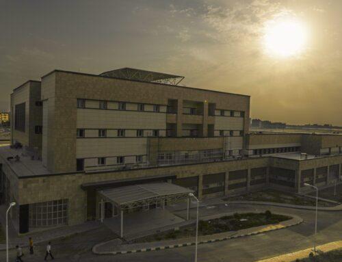 بیمارستان ۱۶۰ تختخوابی شهدای سلامت شهرستان ملارد تحویل موقت شد به دستگاه بهره بردار جهت استقرار تجهیزات پزشکی