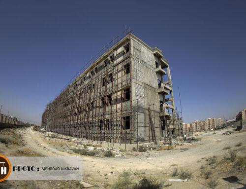 گزارش تصویری از پروژه ۴۰۰ تختخوابی اسلامشهر